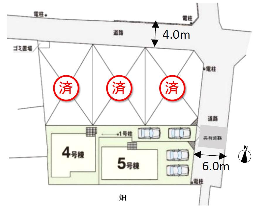 区画全体図