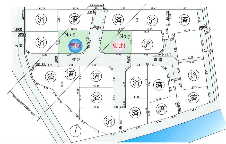 東南角地 駐車スペース1台